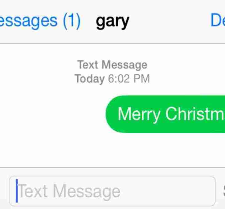 Why would an ex text you Merry Christmas? yourdevan.com